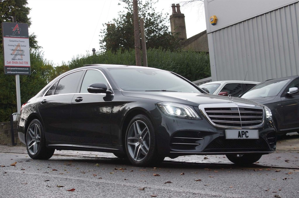 used Mercedes  S Class 3.0 S400L d AMG Line (Executive, Premium Plus) G-Tronic+ (s/s) 4dr in west-yorkshire