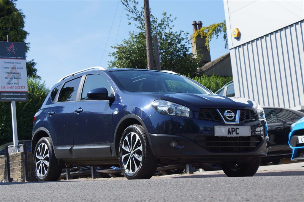 used Nissan Qashqai n-tec CVT 4WD 5dr in west-yorkshire