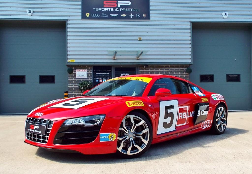 Audi R V QUATTRO LMS CUP For Sale Knaresborough North - Audi r8 race car for sale