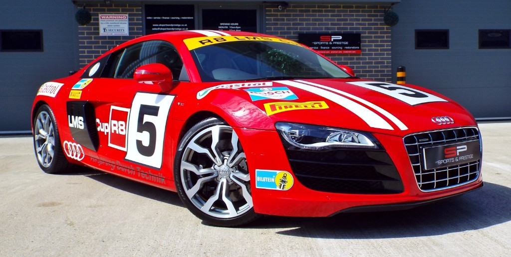 used Audi R8 V10 QUATTRO LMS CUP in harrogate-north-yorkshire