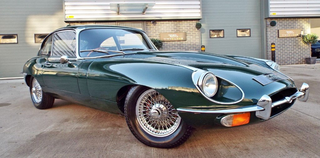 used Jaguar E-Type Coupe 2 + 2 in harrogate-north-yorkshire