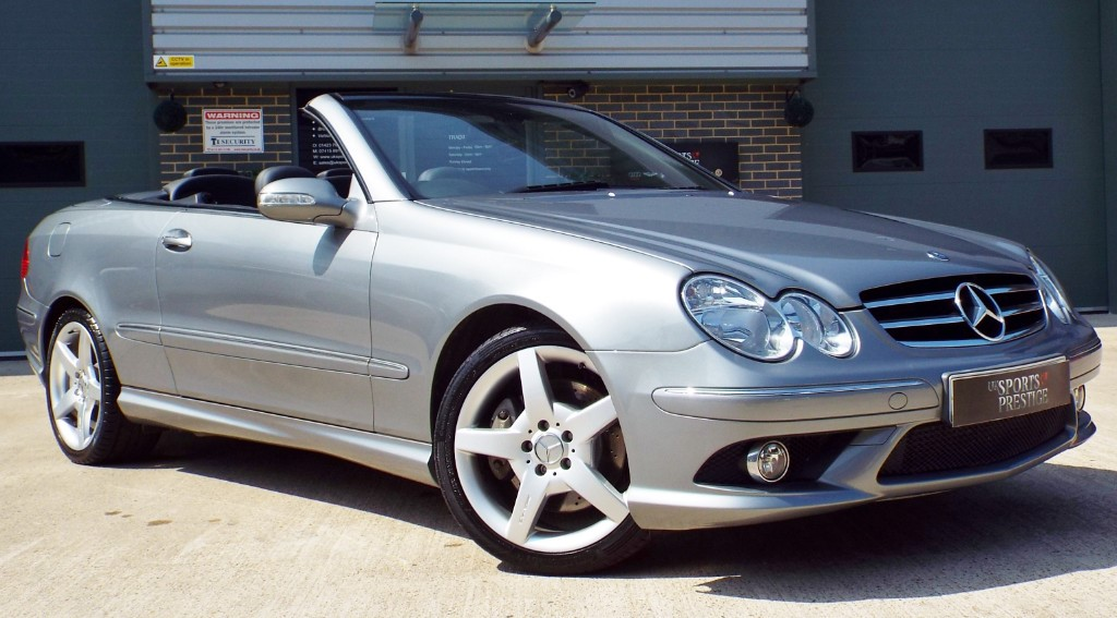 used Mercedes CLK200 AMG SPORT in harrogate-north-yorkshire