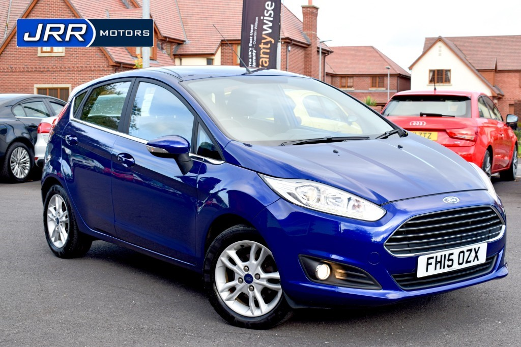 used Ford Fiesta ZETEC in chorley-lancashire