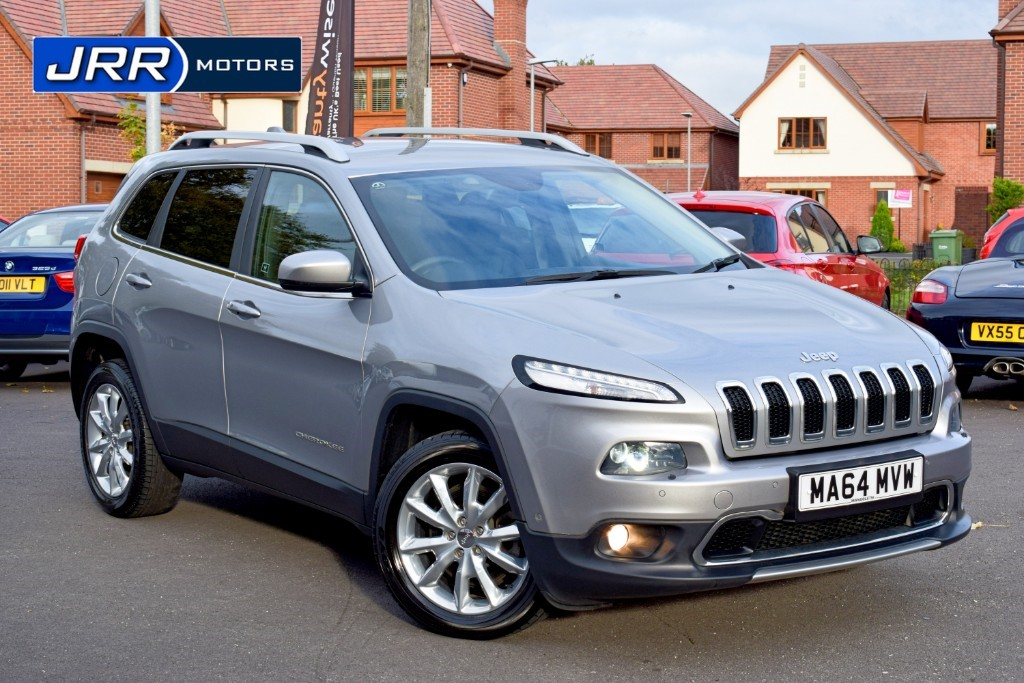 used Jeep Cherokee M-JET LIMITED in chorley-lancashire