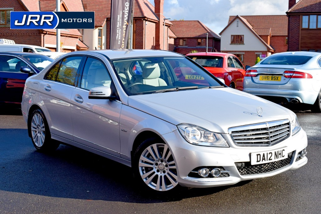 used Mercedes C180 BLUEEFFICIENCY ELEGANCE in chorley-lancashire