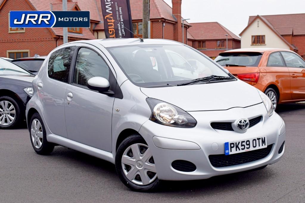 used Toyota Aygo VVT-I PLATINUM in chorley-lancashire