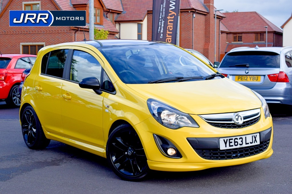 used Vauxhall Corsa LIMITED EDITION in chorley-lancashire