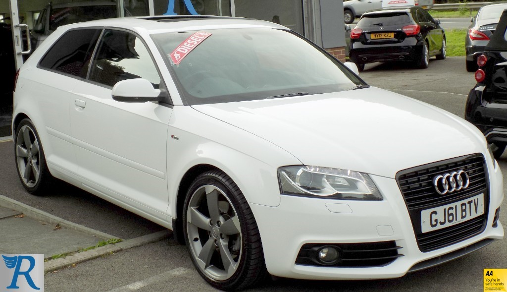 used Audi A3 TDI S LINE SPECIAL EDITION in sittingbourne-kent