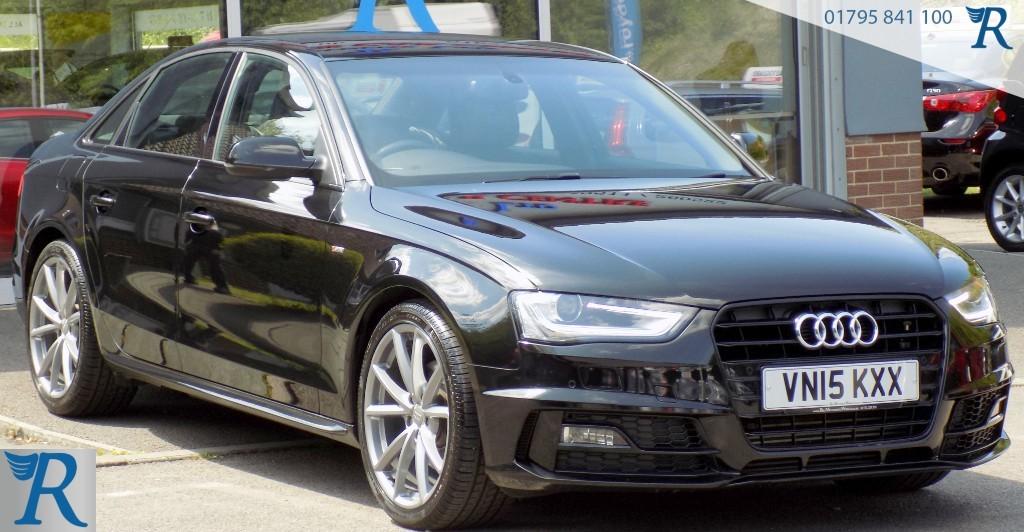 used Audi A4 TDI S LINE BLACK EDITION PLUS in sittingbourne-kent