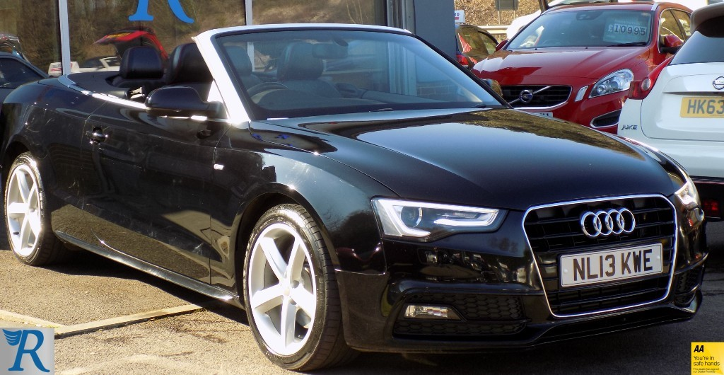 used Audi A5 TFSI S LINE in sittingbourne-kent