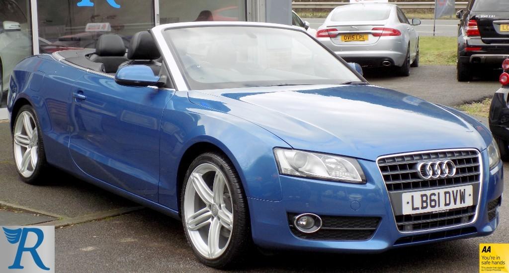 used Audi A5 TFSI SE in sittingbourne-kent