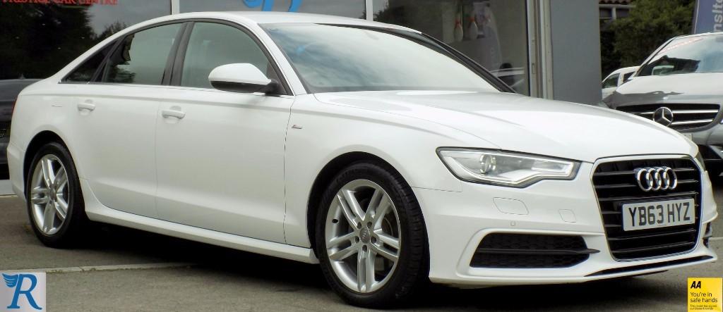 used Audi A6 TDI S LINE in sittingbourne-kent
