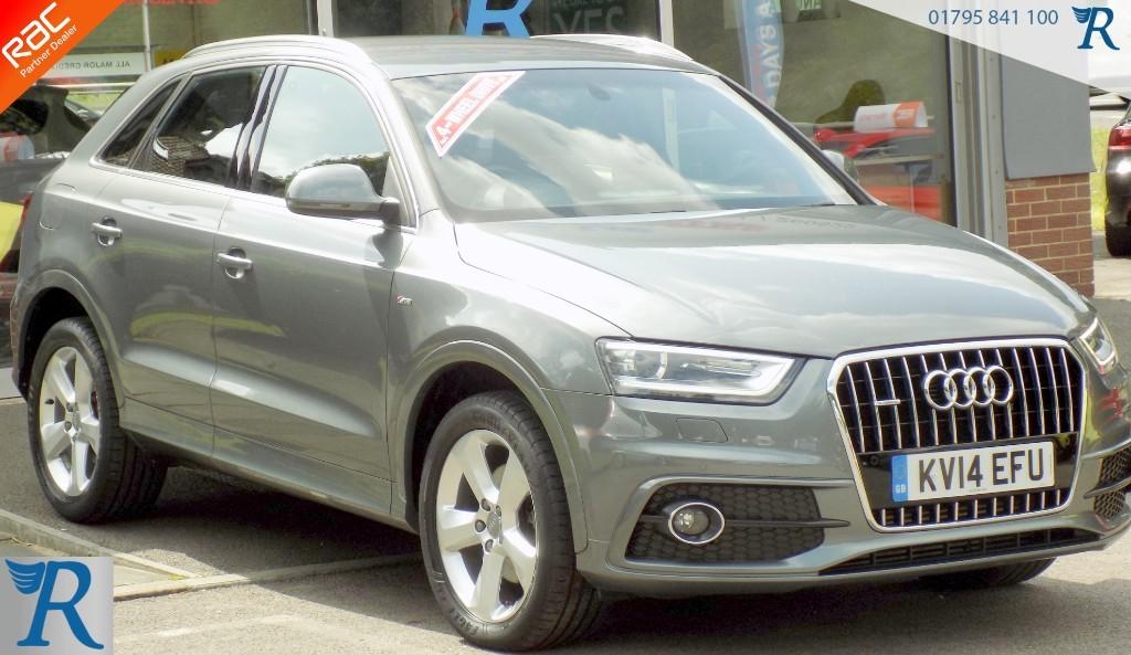 used Audi Q3 TDI QUATTRO S LINE in sittingbourne-kent