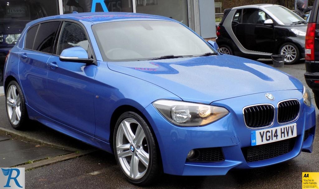 used BMW 116d M SPORT in sittingbourne-kent