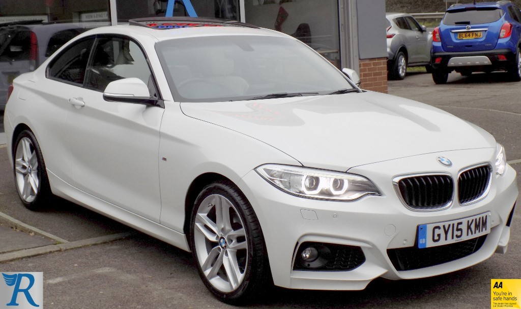 used BMW 218i M SPORT in sittingbourne-kent