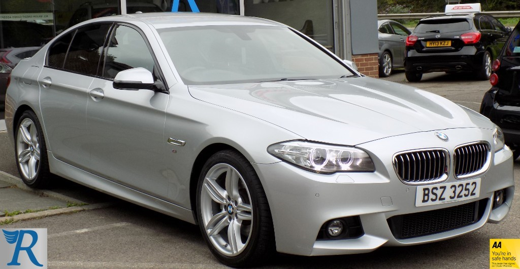 used BMW 520d M SPORT in sittingbourne-kent
