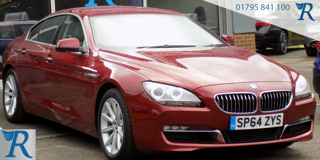 used BMW 640d SE GRAN COUPE in sittingbourne-kent