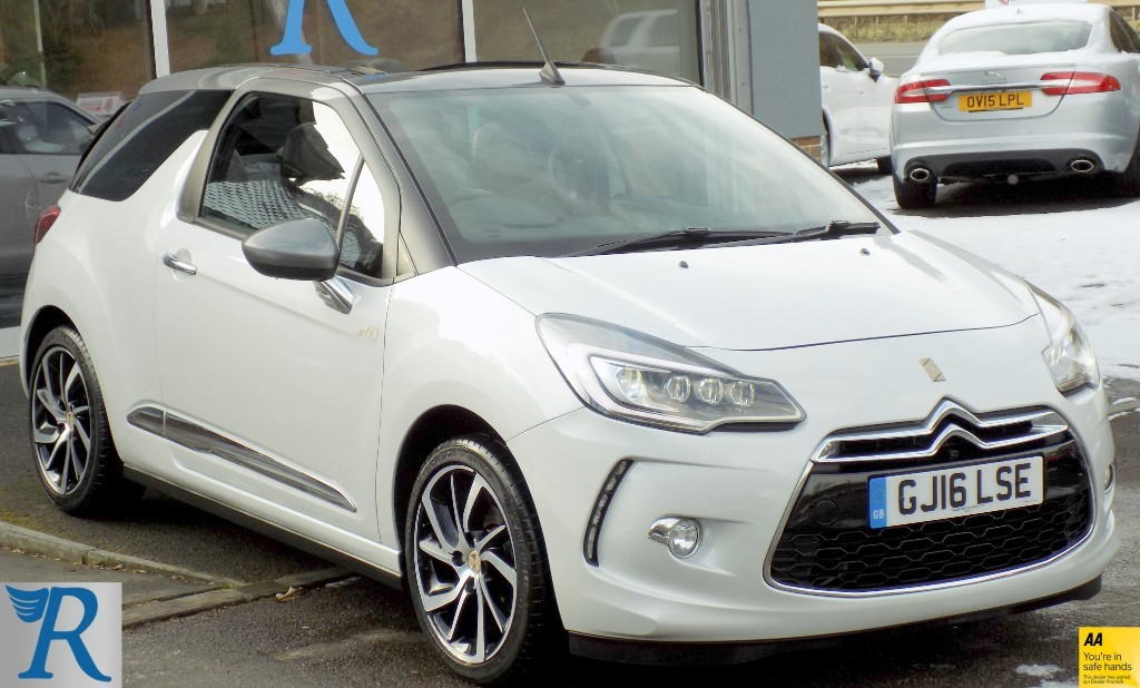 used DS 3 Cabrio PURETECH 1955 S/S in sittingbourne-kent