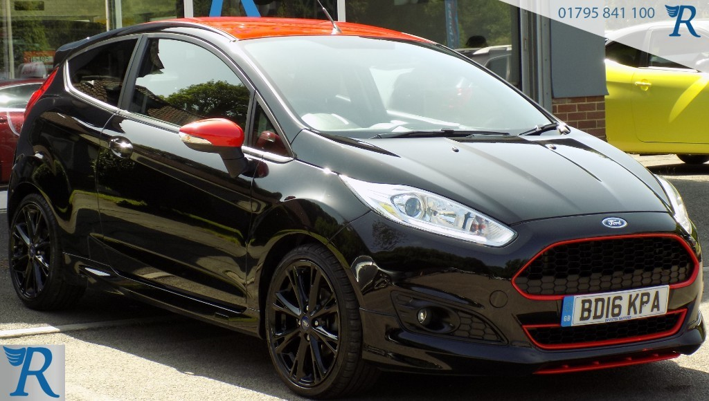 used Ford Fiesta ZETEC S BLACK EDITION in sittingbourne-kent