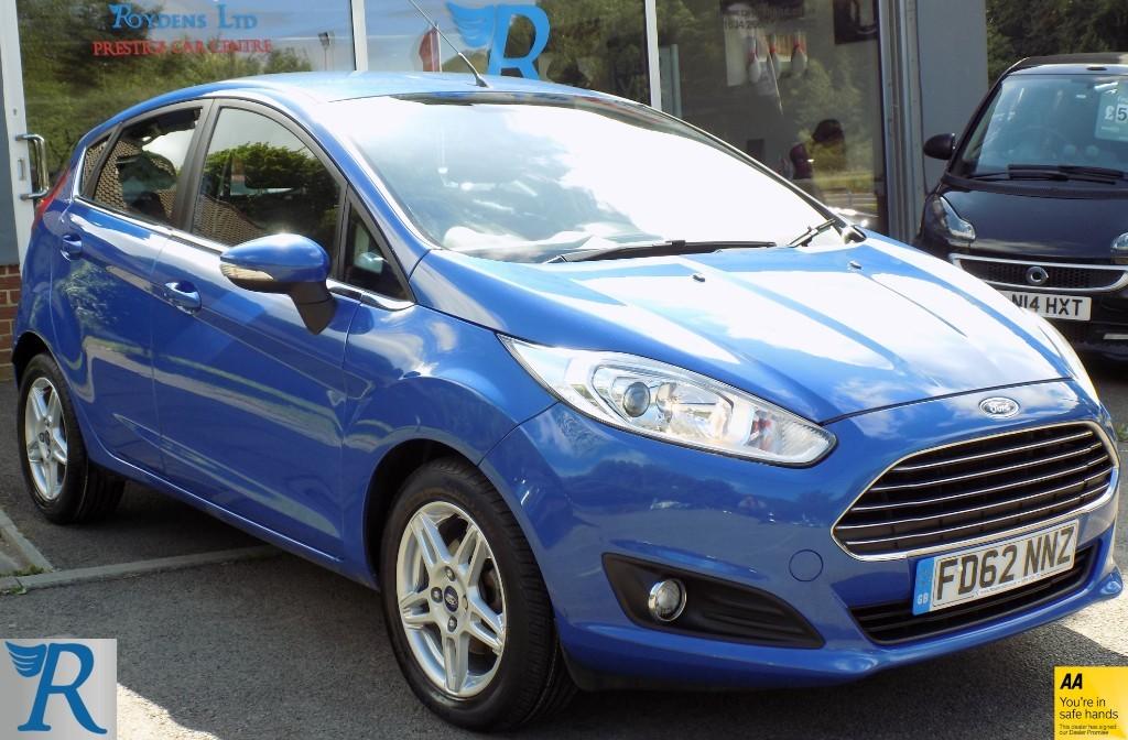 used Ford Fiesta ZETEC TDCI in sittingbourne-kent