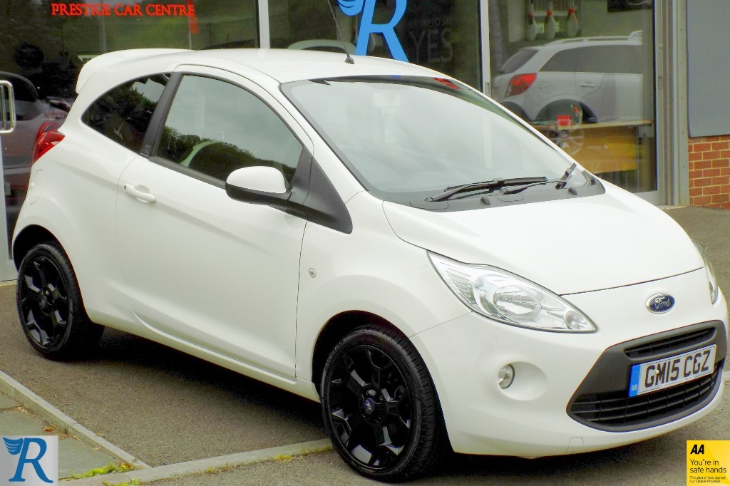 used Ford KA ZETEC WHITE EDITION in sittingbourne-kent