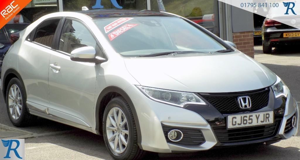 used Honda Civic I-DTEC SR in sittingbourne-kent