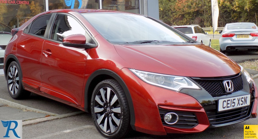 used Honda Civic I-VTEC SE PLUS in sittingbourne-kent