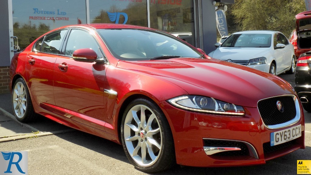 used Jaguar XF D V6 S PREMIUM LUXURY in sittingbourne-kent