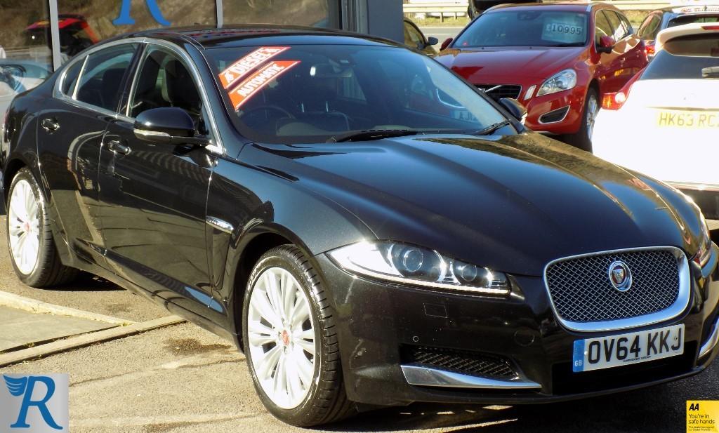 used Jaguar XF D PORTFOLIO in sittingbourne-kent