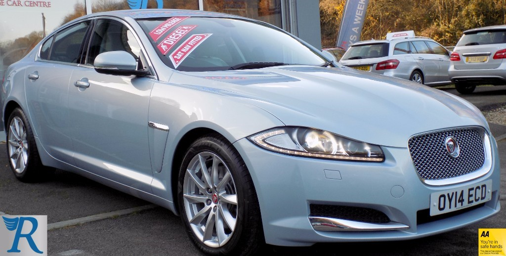 used Jaguar XF D PREMIUM LUXURY in sittingbourne-kent