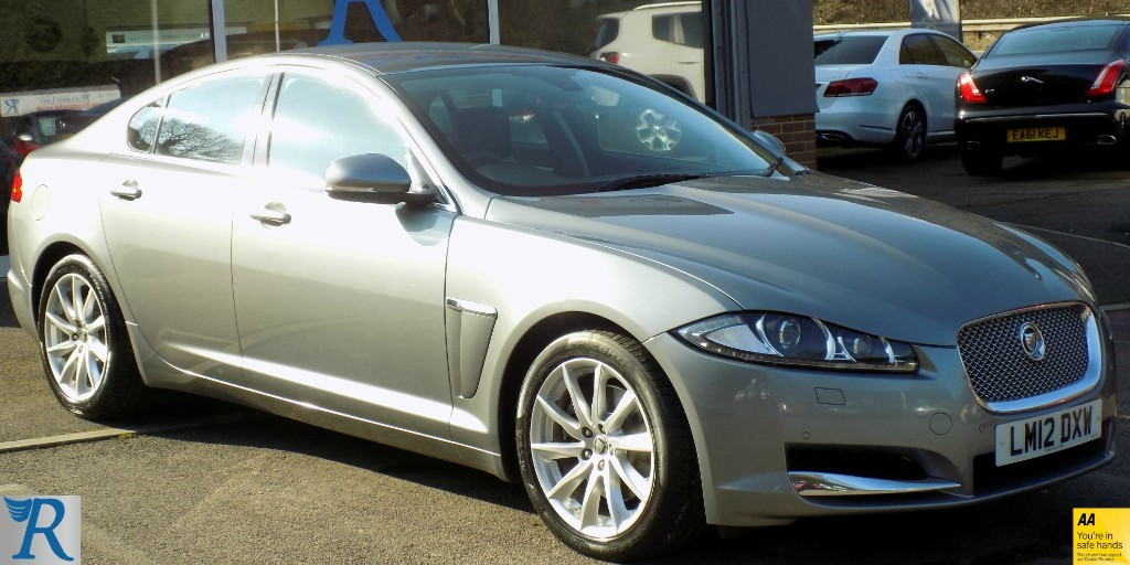 used Jaguar XF D PREMIUM LUXURY in sittingbourne-kent