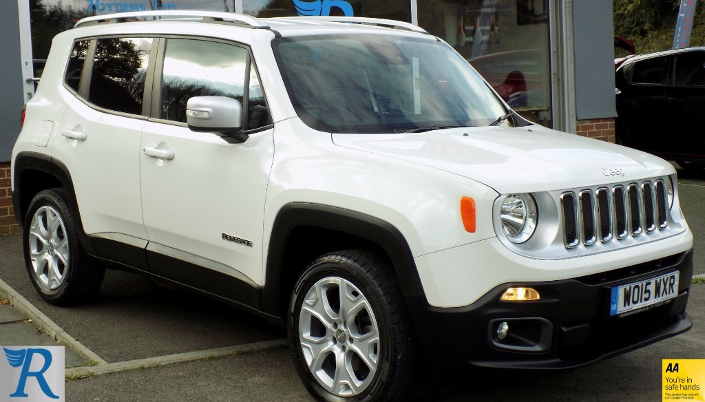used Jeep Renegade M-JET LIMITED in sittingbourne-kent