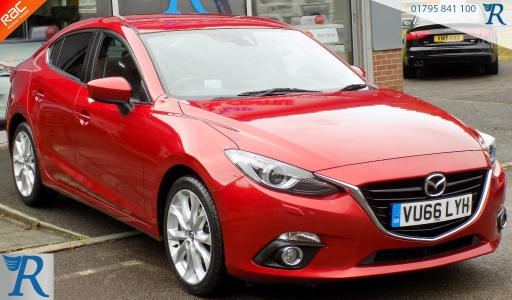 used Mazda Mazda3 D SPORT NAV in sittingbourne-kent