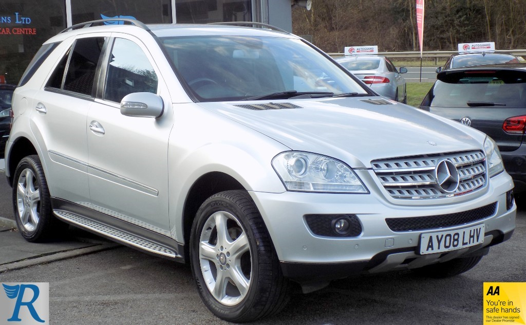 used Mercedes 320 ML  CDI SPORT in sittingbourne-kent