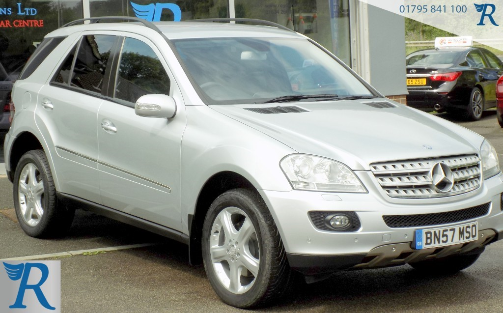 used Mercedes 320 ML  CDI SPORT in sittingbourne-kent