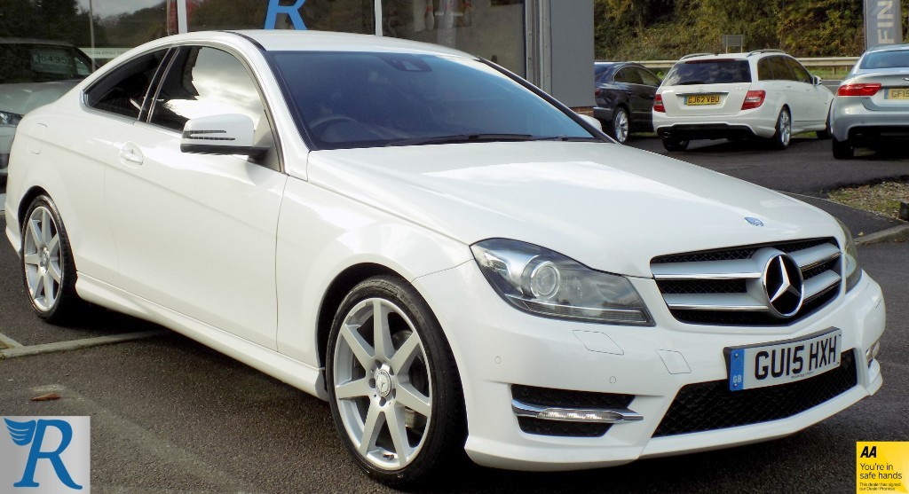 used Mercedes C180 AMG SPORT EDITION PREMIUM in sittingbourne-kent
