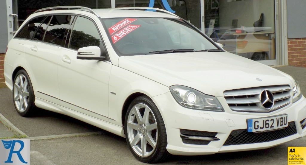 used Mercedes C200 CDI BLUEEFFICIENCY SPORT in sittingbourne-kent