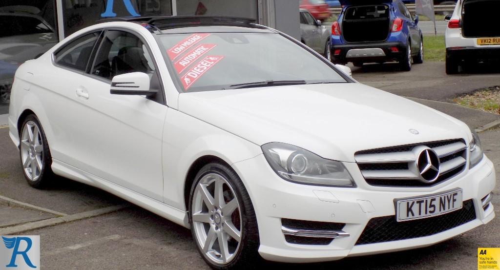 used Mercedes C220 CDI AMG SPORT EDITION PREMIUM PLUS in sittingbourne-kent
