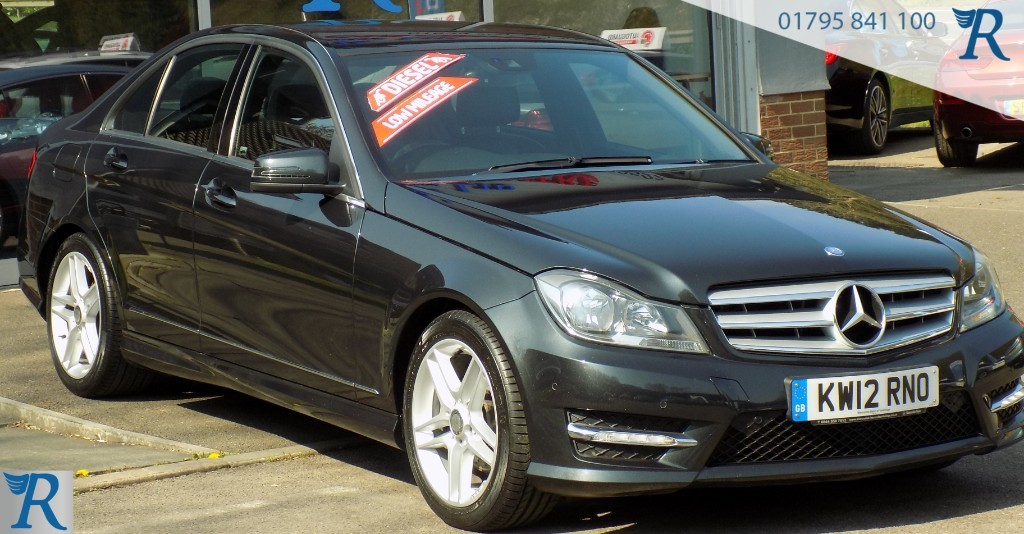 used Mercedes C220 CDI BLUEEFFICIENCY AMG SPORT in sittingbourne-kent
