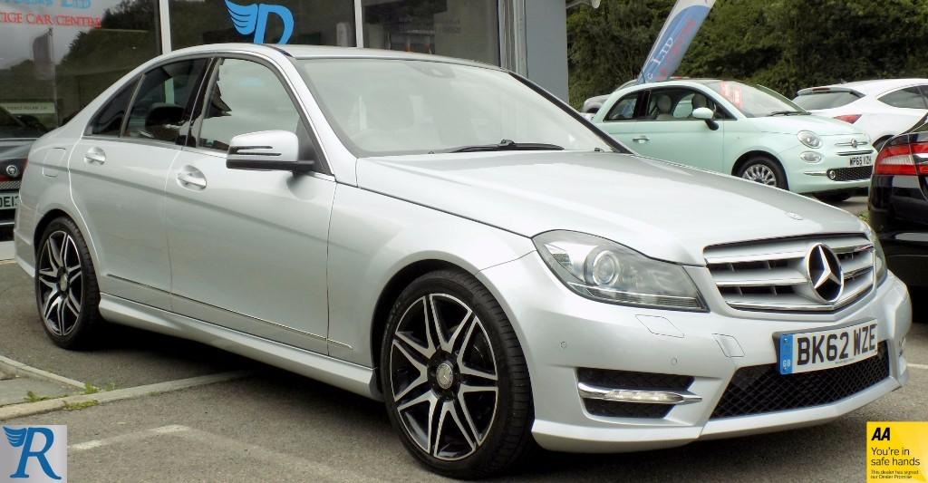 used Mercedes C220 C220 CDI BLUEEFFICIENCY AMG SPORT PLUS in sittingbourne-kent
