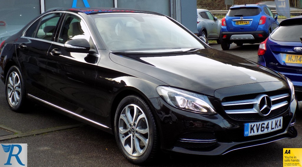 used Mercedes C220 BLUETEC SPORT in sittingbourne-kent