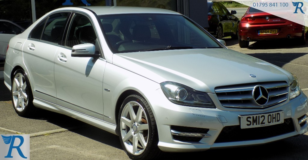 used Mercedes C220 CDI BLUEEFFICIENCY SPORT in sittingbourne-kent