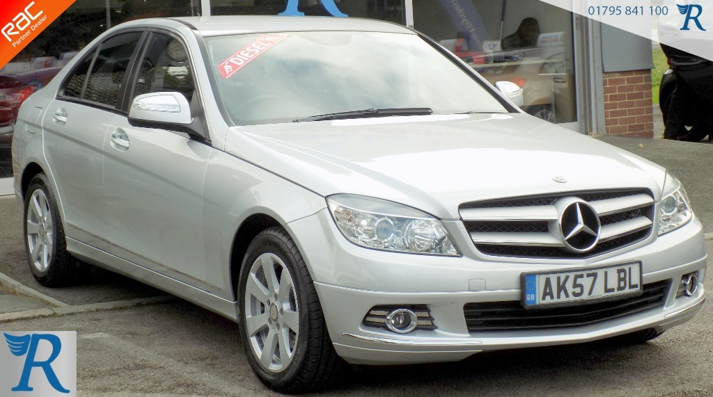 used Mercedes C220 CDI SE in sittingbourne-kent