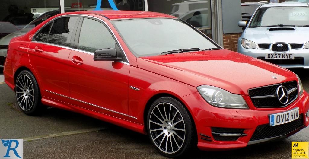 used Mercedes C350 CDI BLUEEFFICIENCY SPORT in sittingbourne-kent