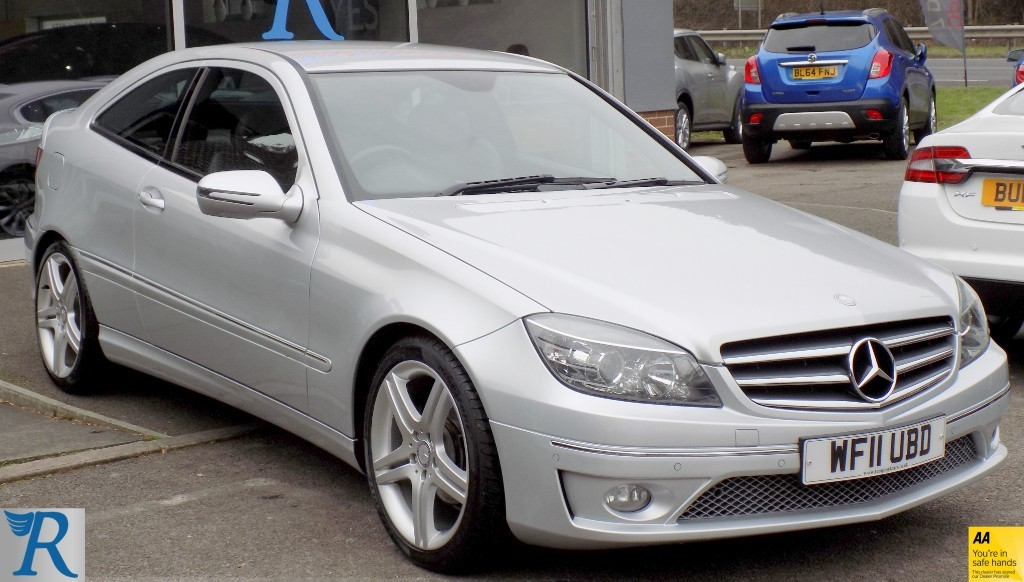used Mercedes CLC180 KOMPRESSOR SPORT in sittingbourne-kent