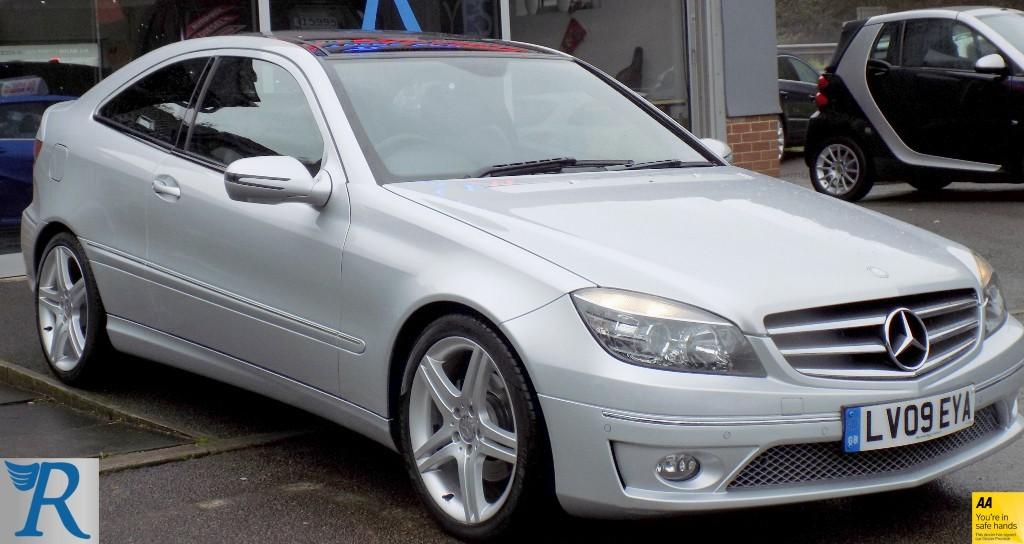 used Mercedes CLC200 KOMPRESSOR SPORT in sittingbourne-kent