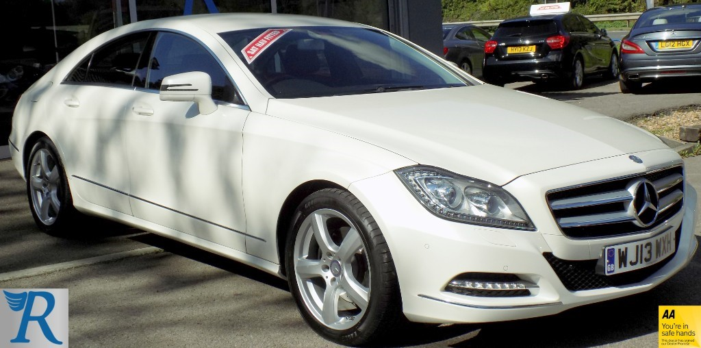 used Mercedes CLS250 CDI CLS250 CDI BLUEEFFICIENCY in sittingbourne-kent