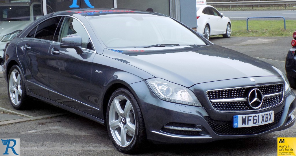 used Mercedes CLS350 CDI CLS350 CDI BLUEEFFICIENCY in sittingbourne-kent
