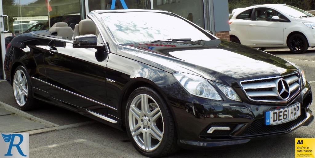 used Mercedes E220 CDI BLUEEFFICIENCY SPORT ED125 in sittingbourne-kent