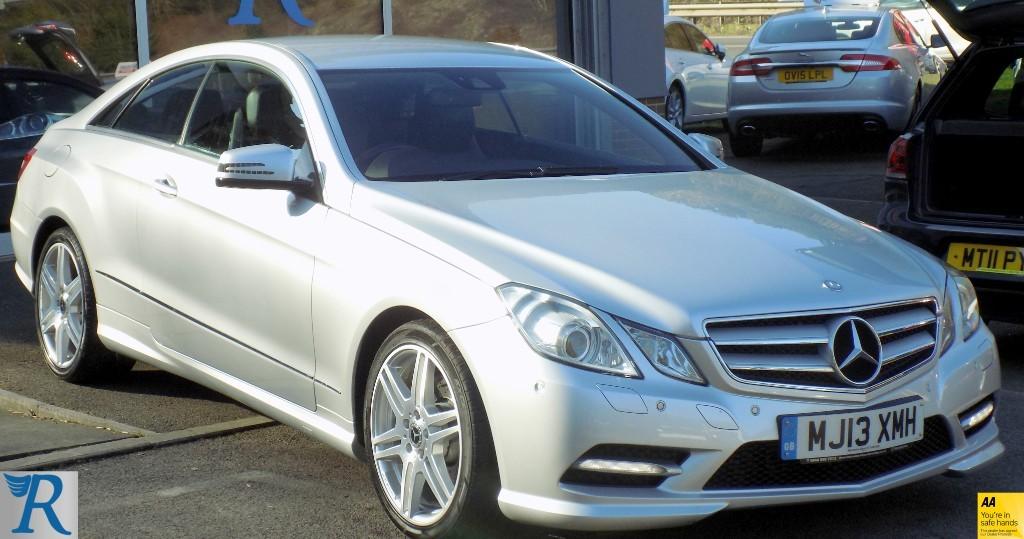 used Mercedes E220 CDI BLUEEFFICIENCY SPORT in sittingbourne-kent